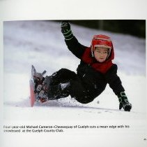 Image of Snowboarding at the Guelph Country Club, page 45