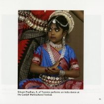 Image of Shivani Pradham at the Guelph Multicultural Festival