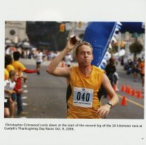 Image of Christopher Grimwood at Guelph's Thanksgiving Day Races, 2006