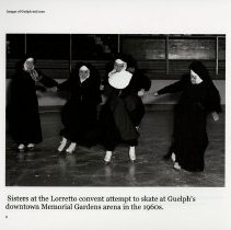 Image of Sisters at Loretto Convent Skating at Memorial Gardens in the 1960s