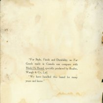 Image of Musk-Ox Brand Catalogue - Inside Cover