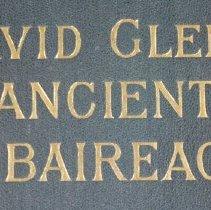 Image of Ancient Piobaireachd Book - Title