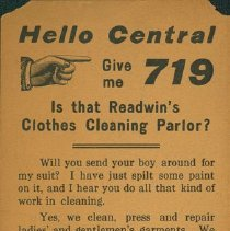 Image of Readwins Clothes Cleaning Parlour - Front