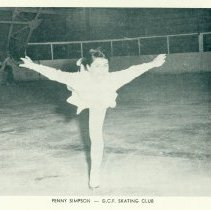Image of Rhapsody On Ice 1959 - Penny Simpson