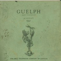 Image of Guelph Bell Telephone Book, 1941