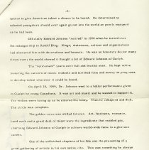 Image of Essay on Edward Johnson, p.3