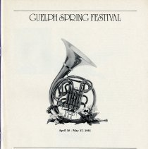Image of Guelph Spring Festival 1981, p.1