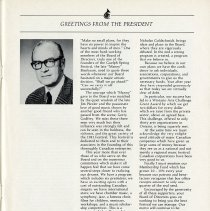 Image of Greetings from the President, Murdo MacKinnon, p.3