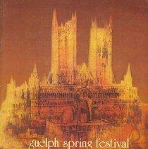 Image of 1983 Guelph Spring Festival Program