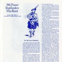 Image of 78th Fraser Highlanders Band, p.21