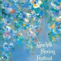 Image of 1984 Guelph Spring Festival Program