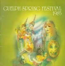 Image of 1985 Guelph Spring Festival Program