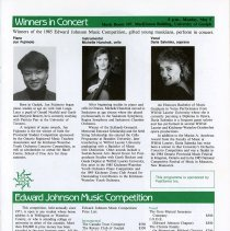 Image of Winners of Edward Johnson Music Competition in Concert, p.27