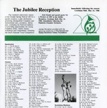 Image of The Jubille Reception, p.35