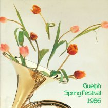 Image of 1986 Guelph Spring Festival Program