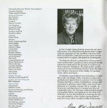 Image of Executive and Directors of Edward Johnson Music Foundation, p.2
