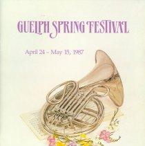 Image of 1987 Guelph Spring Festival Program