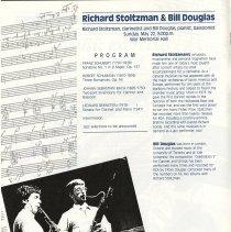Image of Richard Stoltzman & Bil Douglas, p.10
