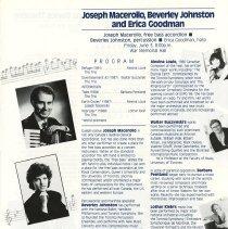 Image of Joseph Macerollo, Beverley Johnston, and Erica Goodman, p.20
