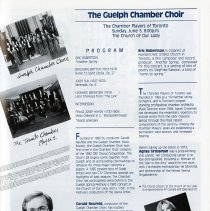 Image of The Guelph Chamber Choir, p.23