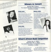 Image of Winners of Edward Johnson Music Competition in Concert, p.4