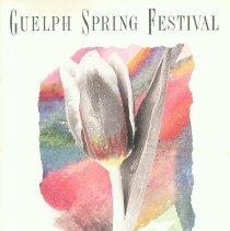 Image of 1988 Guelph Spring Festival Program
