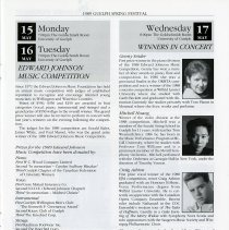 Image of Edward Johnson Music Competition; Winners in Concert, p.13