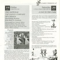 Image of National Tap Dance Company of Canada; A Day in the Park, p.14