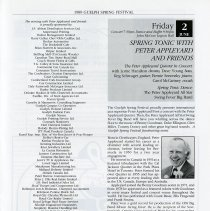 Image of Spring Tonic with Peter Appleyard & Friends, p.23