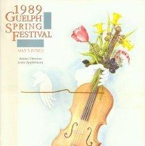 Image of 1989 Guelph Spring Festival Program