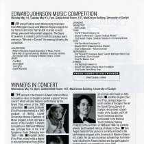 Image of Edward Johnson Music Competition; Winners in Concert, p.19