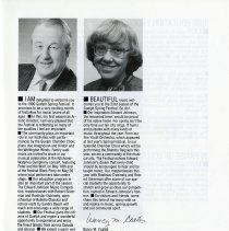 Image of Messages from Simon Streatfield and Nancy M. Coates, p.3