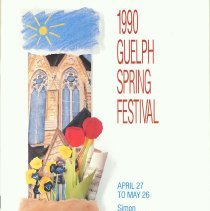 Image of 1990 Guelph Spring Festival Program