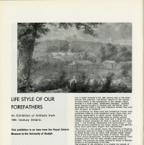 """Image of """"Life Style of Our Forefathers"""" Exhibition, p.30"""