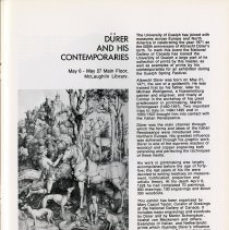 """Image of """"Durer and His Contemporaries,"""" McLaughlin Library, p.31"""