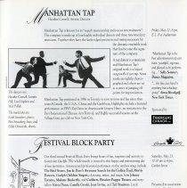 Image of Manhattan Tap; Festival Block Party, p.31