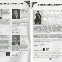 Image of Messages of Welcome, pp.2-3
