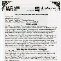 Image of Jazz and World Music Celebration, p.7
