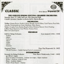 Image of Guelph Spring Festival Chamber Orchestra, p.27