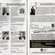 Image of Messages of Welcome, pp.4-5