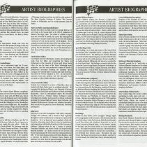 Image of Artist Biographies (cont.), pp.48-49