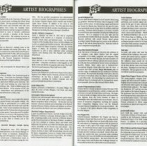 Image of Artist Biographies (cont.), pp.50-51