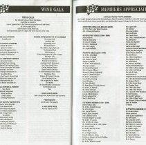 Image of Wine Gala; Members Appreciation, pp.54-55