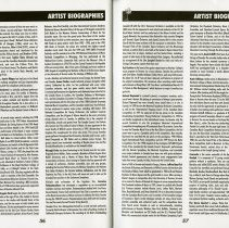 Image of Artist Biographies (cont.), pp.56-57