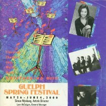 Image of 2000 Guelph Spring Festival Program