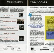 Image of Master Classes; Edward Johnson Music Competition, pp.18-19