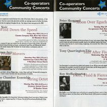 Image of Co-operators Community Concerts, pp. 20-21