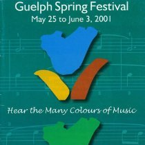 Image of 2001 Guelph Spring Festival Program