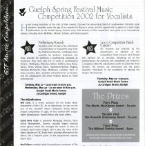 Image of Guelph Spring Music Festival Competition for Vocalists, p.26