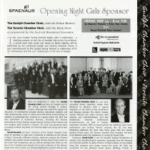 Image of Opening Night Gala, Guelph & Toronto Chamber Choirs, p.7